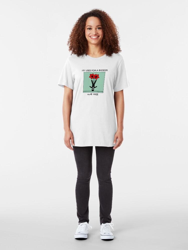 Alternate view of no.48 VASE Slim Fit T-Shirt