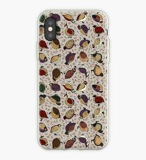 Rustic Quail (Now With More Quail!) iPhone Case