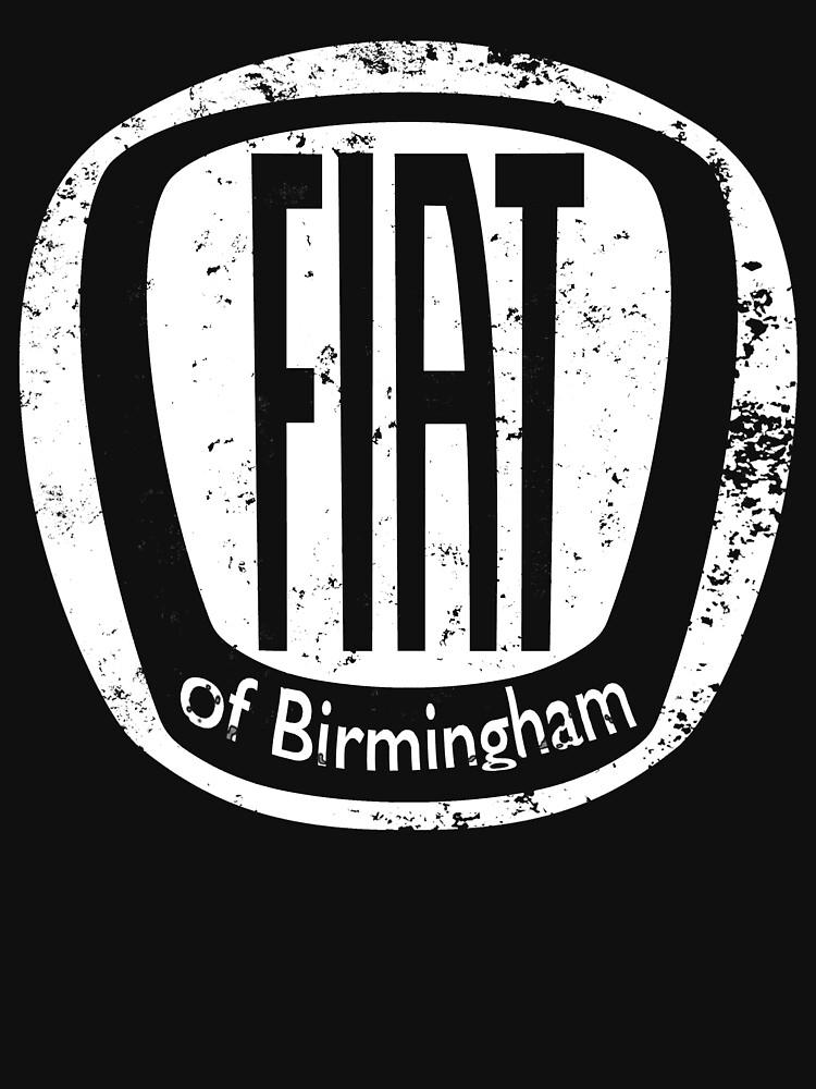 Fiat of Birmingham - white logo by Fobrocks