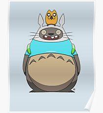 Finn Totoro Poster