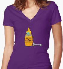 Whodunnit Women's Fitted V-Neck T-Shirt