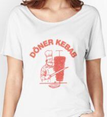 Doner kebab logo Women's Relaxed Fit T-Shirt