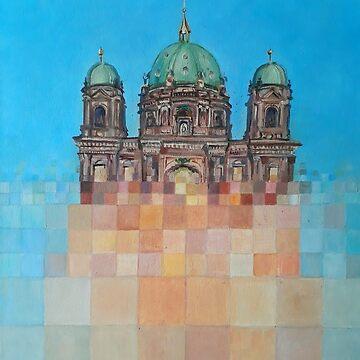 Pixelation of Berliner Dom by Redilion