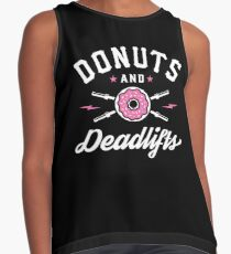 Donuts And Deadlifts Contrast Tank