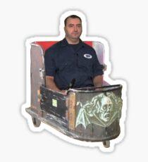Mike's Wild Ride Sticker