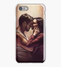 Outlaw Queen Nose Kiss iPhone Case/Skin