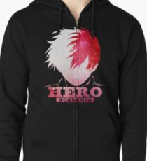 Sudadera con capucha y cremallera Shouto Hero Academia