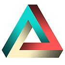 Impossible Penrose Triangle Illusion Design by SpikyHarold