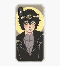 """it's somewhere"" Joker P5  iPhone Case"
