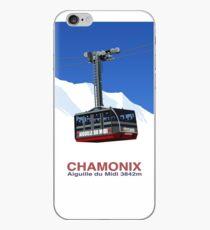 Chamonix Ski Resort , Aiguille du Midi Cable Car iPhone Case