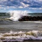 Presque Isle Waves by Kathy Weaver