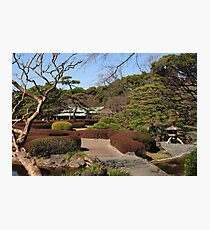 Imperial Palace - Ninomaru Garden Photographic Print