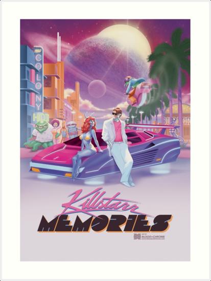 Killstarr Memories Tee by killstarr