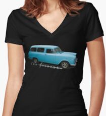 Special Women's Fitted V-Neck T-Shirt