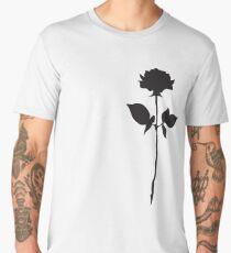 Rose Tee   Floral Cool Graphic T-Shirt Men's Premium T-Shirt