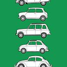 Iconic Peoples Cars - Classic Car Collection by RJWautographics