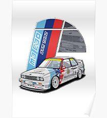 Classic M3 E30 Poster