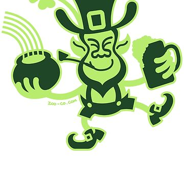 Saint Patrick's Leprechaun by Zoo-co