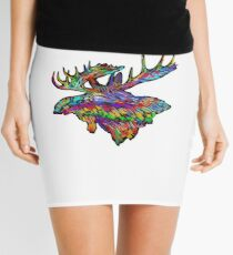 Colorful Extreme Mini Skirt