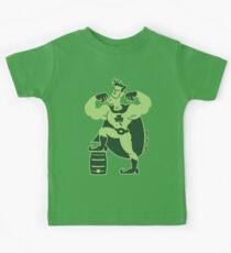 Saint Patrick's Day Superhero Kids Tee