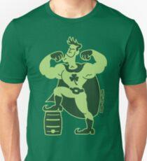 Saint Patrick's Day Superhero Slim Fit T-Shirt