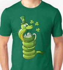 Saint Patrick's Day Snake Slim Fit T-Shirt