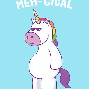 Meh-Gical Unicorn by petestyles