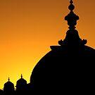 Domes Greeting The Sunrise by Gina Ruttle  (Whalegeek)