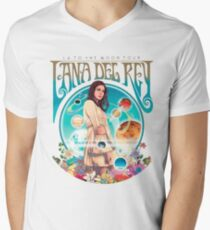 Lana Del Rey fanart Men's V-Neck T-Shirt