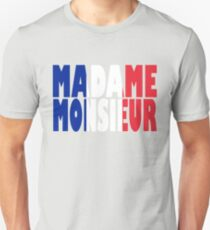 Madame Monsieur - Mercy - France - Eurovision 2018 Unisex T-Shirt