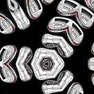 set of golf clubs by tinncity