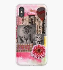The Cat Ads Collage iPhone Case