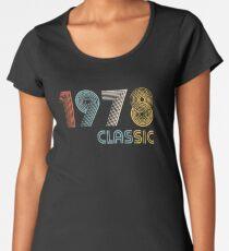 Camiseta premium para mujer 1978 clasico 41 años cumpleaño