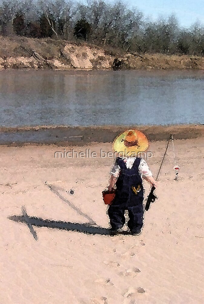 goin fishin by michelle bergkamp