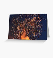 Do you feel the sparks? Greeting Card