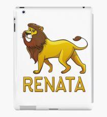 Renata Lion Drawstring Bags iPad Case/Skin