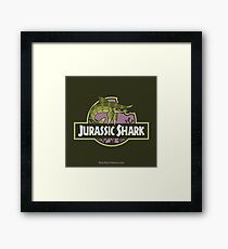 Jurassic Shark - SNIPPET the Sarcoprion Framed Print