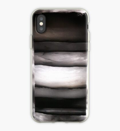 Glacial layers iPhone Case