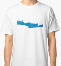 Crete Island Map Classic T-Shirt