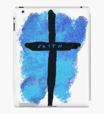 Faith on a Cross iPad Case/Skin