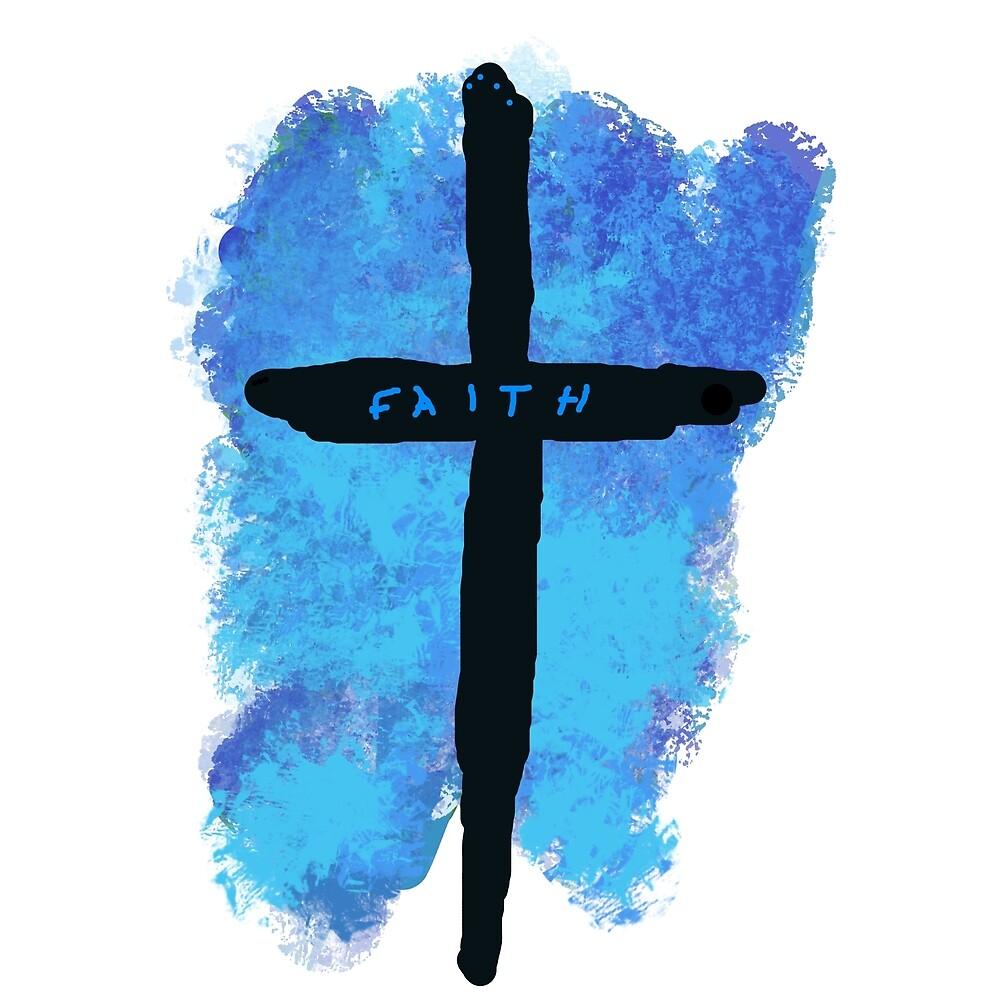 Faith on a Cross by Jessielee72