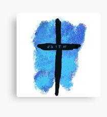 Faith on a Cross Canvas Print