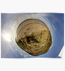 Lisfannon Beach, Fahan, County Donegal, Sky Out Poster
