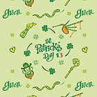 Saint Paddy's Day patterns by Zoo-co