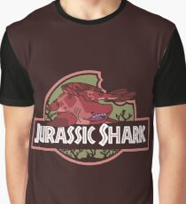 Jurassic Shark - MOOCH, the Orthacanthus Shark Graphic T-Shirt