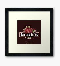 Jurassic Shark - MOOCH, the Orthacanthus Shark Framed Print