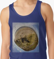 Lisfannon Beach, Fahan, County Donegal, Sky Out Men's Tank Top
