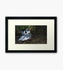 Wagner Falls Framed Print