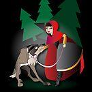 Twisted - Little Red Riding Hood by Lauren Eldridge-Murray