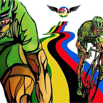 Sagan Cycling World Champion by SFDesignstudio